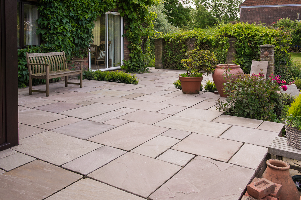 Gardening Ideas, Examples & Case Studies | White of ... on Paving Ideas For Back Gardens id=81945