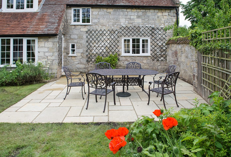 Gardening Ideas, Examples & Case Studies | White of ... on Paving Ideas For Back Gardens id=54973